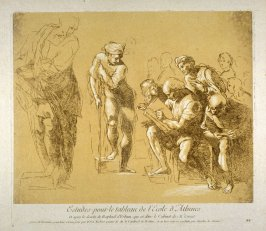 Study for the School of Athens, from the Recueil Crozat