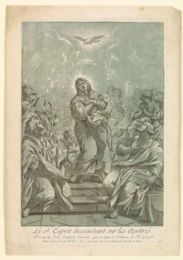 Le S. Esprit descendant sur les apôtres (The Holy Spirit Descending on the Apostles), from the Recueil Crozat