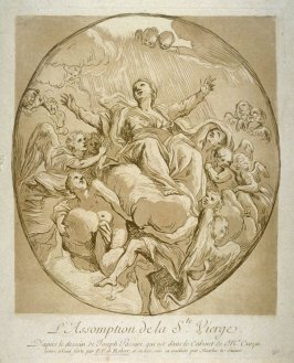 The Assumption of the Holy Virgin, from the Recueil Crozat