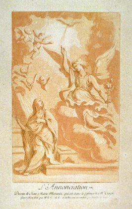 The Annunciation, from the Recueil Crozat