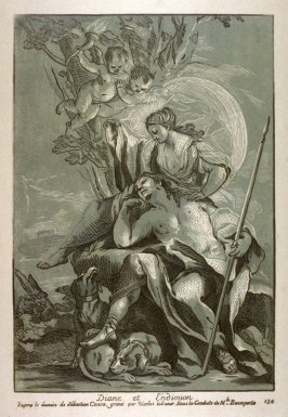Diana and Endymion, from the Recueil Crozat