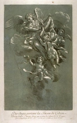 Angels carrying the Golden Fleece, from the Recueil Crozat