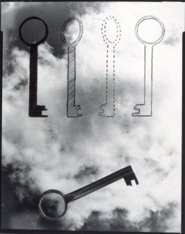 The LIbrary Key, first photograph in the book This Book is an Object, text by René Fontaine, photographs by Dennis Letbetter (San Francisco: Greenwood Press, 1989)
