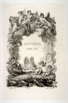 Title page - Lettres, Tome III
