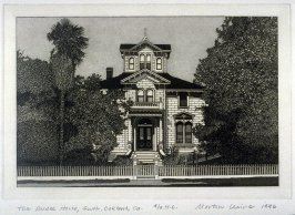 The Pardee House (south view), Oakland, CA