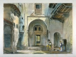 Entance to the Mosque