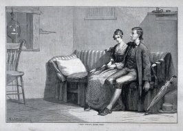Two's Company, Three's None - from Harper's Weekly, (March 31, 1877), p. 252