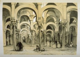 The Mosque at Cordova (The Cathedral), nineteenth plate in the book, Sketches of Spain and Spanish Character (London: F. G. Moon … John F. Lewis, [1836])