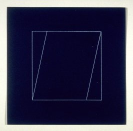 """Untitled, pl. 2, from the portfolio, """"All double combinations (superimposed) of six geometric figures (circle square, triangle, rectangle, trapezoid and parallelogram)"""""""