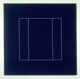 """Untitled, pl. 10, from the portfolio, """"All double combinations (superimposed) of six geometric figures (circle square, triangle, rectangle, trapezoid and parallelogram)"""""""