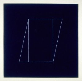"Untitled, pl. 15, from the portfolio, ""All double combinations (superimposed) of six geometric figures (circle square, triangle, rectangle, trapezoid and parallelogram)"""
