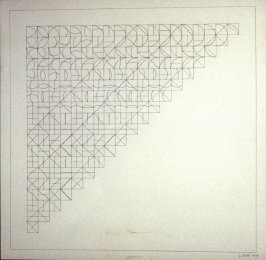 Untitled, pl. 2, from the portfolio, ALL COMBINATIONS OF ARCS FROM CORNERS & SIDES; STRAIGHT, NOT-STRAIGHT & BROKEN LINES (New York: Parasol Press Ltd., 1975)