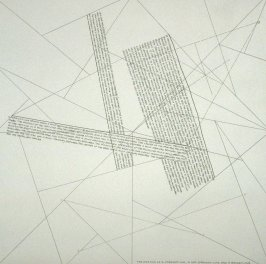 THE LOCATION OF A STRAIGHT LINE, A NOT-STRAIGHT LINE AND A BROKEN LINE,pl. 2 from the portfolio THE LOCATION OF LINES (New York: Parasol Press Ltd., 1975)