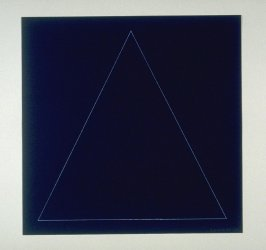 Untitled, pl. 3 from the portfolio Six geometric figures (circle, square, triangle, rectangle, trapezoid and parallelogram) (New York: Parasol Press Ltd., 1977)