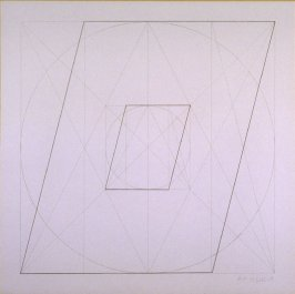 Untitled, pl. 36, from the portfolio, Geometric Figures within Geometric Figures