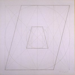 Untitled, pl. 35, from the portfolio, Geometric Figures within Geometric Figures