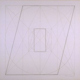 Untitled, pl. 34, from the portfolio, Geometric Figures within Geometric Figures