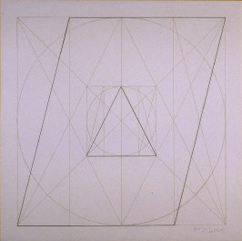 Untitled, pl. 33 , from the portfolio, Geometric Figures within Geometric Figures