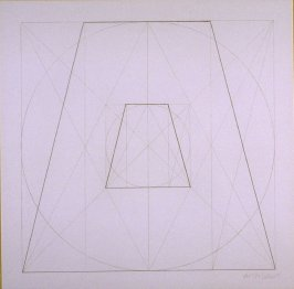 Untitled, pl. 29, from the portfolio, Geometric Figures within Geometric Figures