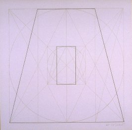Untitled, pl. 28, from the portfolio, Geometric Figures within Geometric Figures