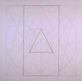 Untitled, pl. 21, from the portfolio, Geometric Figures within Geometric Figures