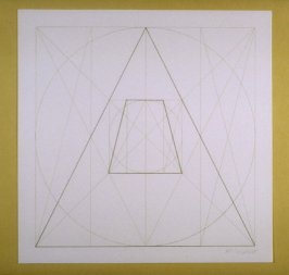 Untitled, pl. 17, from the portfolio, Geometric Figures within Geometric Figures