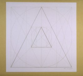 Untitled, pl. 15 from the portfolio Geometric Figures within Geometric Figures(New York: Parasol Press Ltd., 1976)