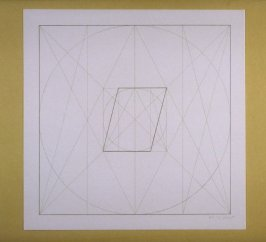 Untitled, pl. 12 from the portfolio Geometric Figures within Geometric Figures(New York: Parasol Press Ltd., 1976)