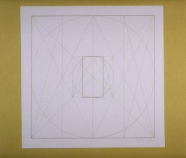 Untitled, pl. 10 from the portfolio Geometric Figures within Geometric Figures(New York: Parasol Press Ltd., 1976)