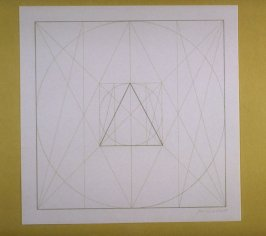 Untitled, pl. 9 from the portfolio Geometric Figures within Geometric Figures(New York: Parasol Press Ltd., 1976)