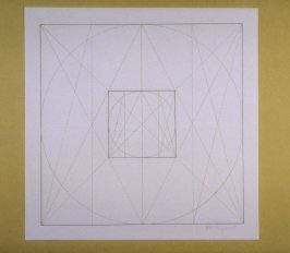Untitled, pl. 8 from the portfolio Geometric Figures within Geometric Figures(New York: Parasol Press Ltd., 1976)