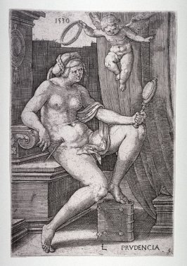Prudence, from the Seven Virtues