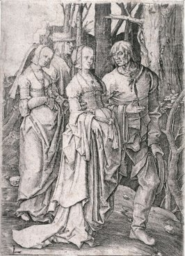 Two Couples in the Forest