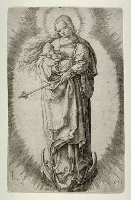 The Virgin on the Crescent (with Scepter)