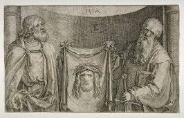 St. Peter and St. Paul holding the Sudarium