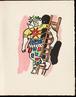 Untitled, pg. 79, in the book Cirque (Circus) by Fernand Léger (Paris: Tériade Editeur, 1950).