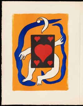Untitled, pg. 90, in the book Cirque (Circus) by Fernand Léger (Paris: Tériade Editeur, 1950).