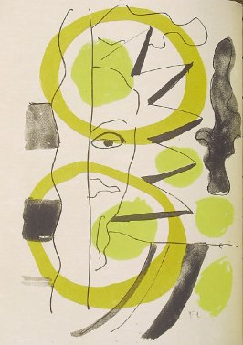 Untitled illustration in the book Source entière (Whole Source) by André Frénaud (Paris: Seghers, 1952)