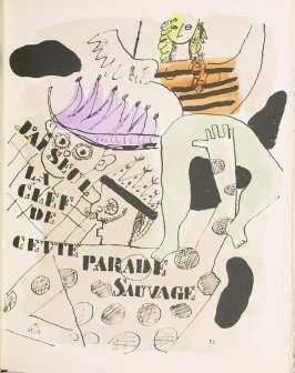 """""""Parade,"""" pg. 110, in the book Les Illuminations by Arthur Rimbaud (Lausanne: Grosclaude, Éditions des Gaules, 1949)."""