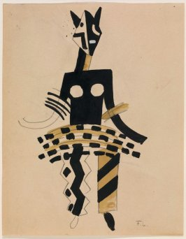 Untitled (Costume Design No. 355 for La Création du Monde)