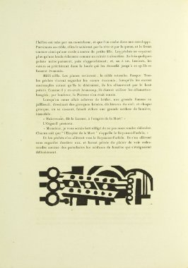 Untitled, tailpiece, in the book Lunes en papier (Paper Moons) by André Malraux (Paris: Galerie Simon, 1921).