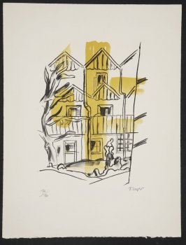 La ruche, plate 1 in the portfolio La ville (Paris: Tériade, 1959)