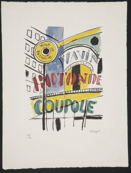 Montparnasse, plate 14 in the portfolio La ville (Paris: Tériade, 1959)