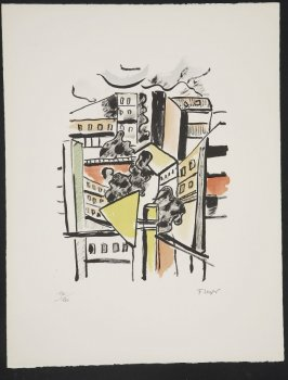 Les toits, plate 16 in the portfolio La ville (Paris: Tériade, 1959)