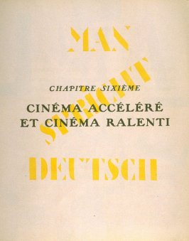 13th illustration in the book La fin du monde, filmée par l'ange N.D. by Blaise Cendrars (Paris: Editions de la Sirène, 1919)