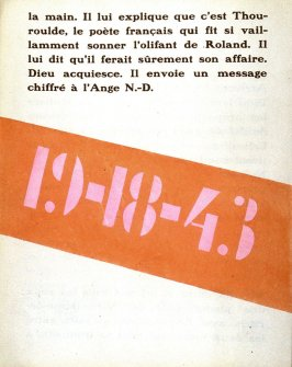 9th illustration in the book La fin du monde, filmée par l'ange N.D. by Blaise Cendrars (Paris: Editions de la Sirène, 1919)