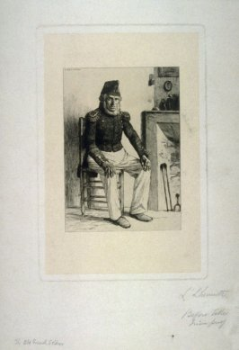The Old French Soldier