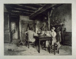 Peasant Family in an Interior