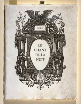 Le Chant de la Nuit by Jean Osiris (Bienne, Switzerland: Editions Efata, [1974])