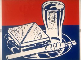 Sandwich and Soda, from the X + X (Ten Works by Ten Painters) portfolio